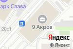 Схема проезда до компании 1Ойл Менеджмент в Москве