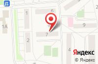Схема проезда до компании ВИРТУС в Долматово