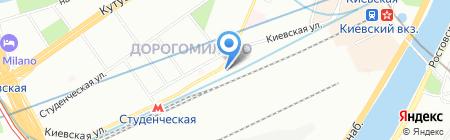 Потомак на карте Москвы