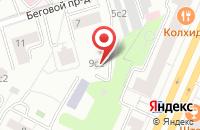 Схема проезда до компании Графика в Москве