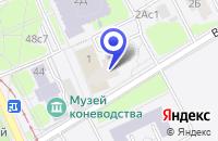 Схема проезда до компании ПТФ ГАММА-ИНТЕРЬЕР в Москве