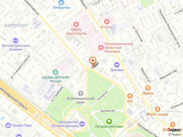Остановка Планетная ул. в Москве