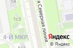 Схема проезда до компании Инженерная служба района Северный в Москве