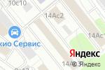 Схема проезда до компании Дамикс Тревел в Москве