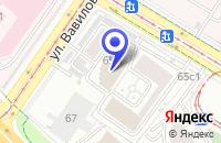 Схема проезда до компании АРХИТЕКТУРНОЕ БЮРО АМ в Москве
