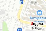 Схема проезда до компании Дом смесей в Москве