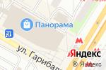 Схема проезда до компании Silueta в Москве