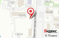Схема проезда до компании Центр модернизации и комплектации - Аэро в Москве