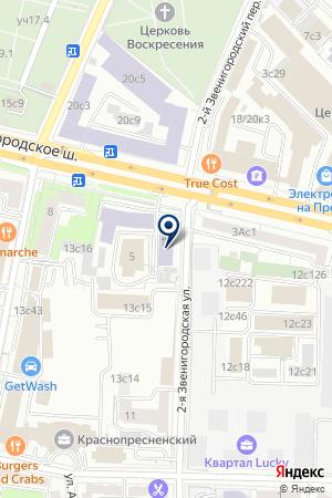 ОО РОССИЙСКАЯ КРИМИНОЛОГИЧЕСКАЯ АССОЦИАЦИЯ на карте Звенигорода