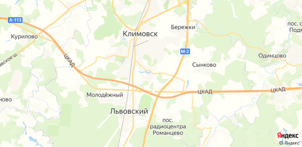 Подольской машинно-испытательной станции на карте