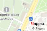 Схема проезда до компании Храм апостола Андрея Первозванного на Ваганьковском кладбище в Москве