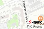 Схема проезда до компании Чулочек в Москве