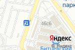 Схема проезда до компании Бор-1 в Москве