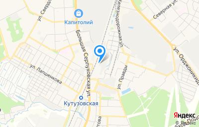 Местоположение на карте пункта техосмотра по адресу Московская обл, г Подольск, ул Правды, д 38