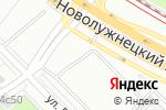 Схема проезда до компании Мотошкола.ру в Москве