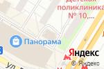Схема проезда до компании ХИНКАЛЬНАЯ в Черемушках в Москве