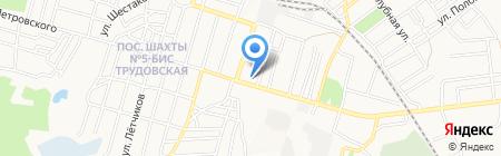 Вкусняшка на карте Донецка