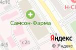 Схема проезда до компании Удостоверяющий Центр Интернет в Москве