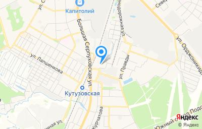 Местоположение на карте пункта техосмотра по адресу Московская обл, г Подольск, ул Правды, д 32Д