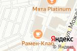 Схема проезда до компании Atlantic office в Москве