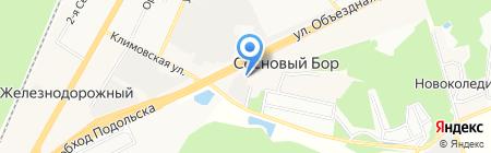 Центр ремонта стартеров и генераторов на ул. Леспромсовхоза на карте Бережков