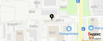 GPS495 на карте Москвы
