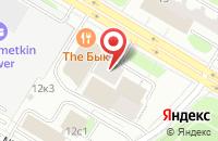 Схема проезда до компании Учебно-Научно Издательский Центр Дома Русской Косметики в Москве