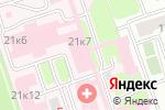 Схема проезда до компании Городская клиническая больница №50 в Москве