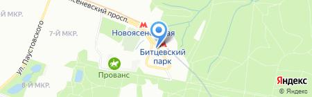 Принц на карте Москвы