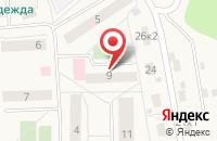 Схема проезда до компании Амбулатория пос. МИС в Долматово