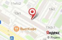 Схема проезда до компании Интегралстрой в Москве