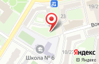 Схема проезда до компании Форстар в Подольске