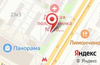 Схема проезда до компании Стройинвестсервис в Москве