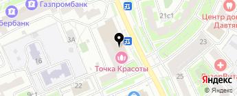 Exist.ru на карте Москвы