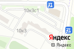 Схема проезда до компании Сотик в Москве