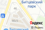 Схема проезда до компании Теплый пол в Москве