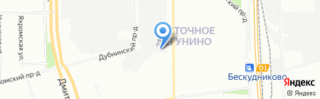 ABCautо на карте Москвы