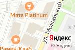 Схема проезда до компании Банк Финсервис в Москве