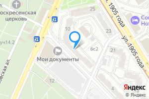 Сдается однокомнатная квартира в Москве м. Улица 1905 года, Большая Декабрьская улица, 8