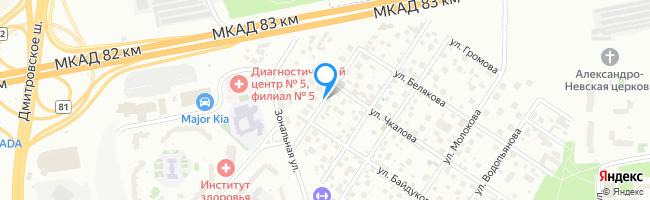 улица Каманина