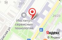 Схема проезда до компании Строитель-3 в Подольске