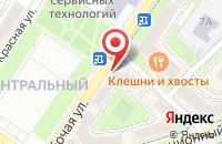 Схема проезда до компании Будь здоров в Подольске