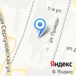 Городское такси на карте Подольска