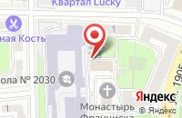 Схема проезда до компании Фотолэнд в Москве