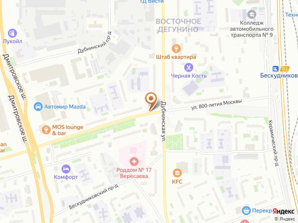 Остановка Баскетбольная школа в Москве