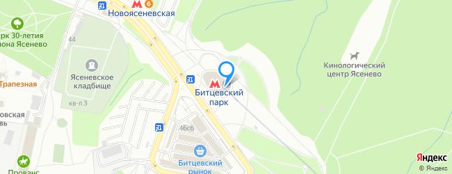 метро Битцевский парк