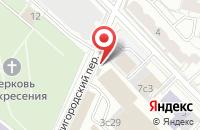 Схема проезда до компании Акватрейдинг в Москве