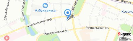 Шадэ на карте Москвы