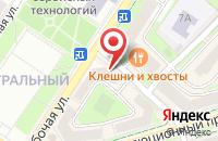 Схема проезда до компании ВЕЛЛ в Подольске