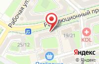 Схема проезда до компании Apple Подольск в Подольске